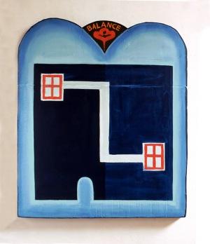 1989, Balance, 110 x 85 x 6 cm