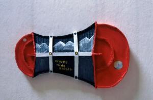 1990, Ergens in de Bergen, 37 x 22 x 6 cm