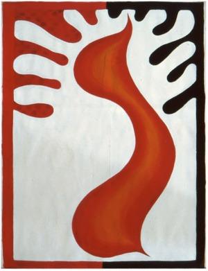 1992, zt, 63 x 46 cm