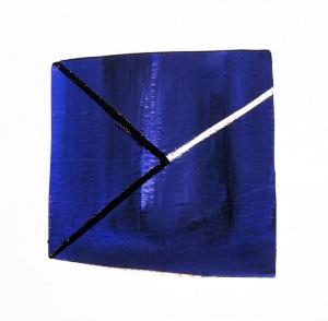 1984, zt, 34 x 33 x 1 cm