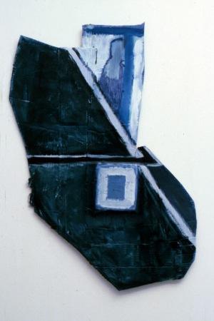 1986, zt,  77 x 51 x 3 cm