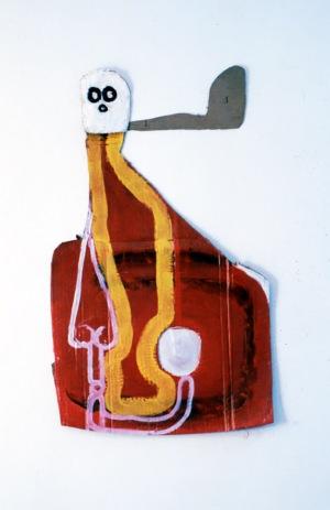 1986, zt, 79 x 54 x 3 cm