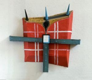 1988, Red Box, 52 x48 x 5,5 cm