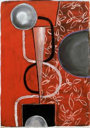 1988, Rainmaker, 29,5 x 42 cm