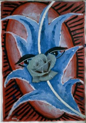 1990, Mystic Eyes, 48 x 32 cm