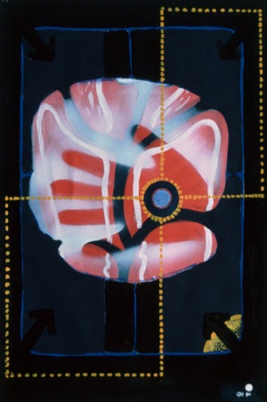 1990, Shadow Hand, 48 x 32 cm