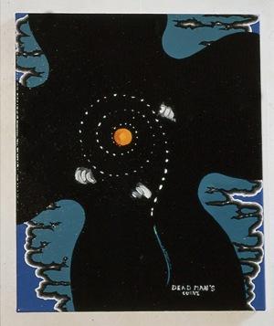 1992, Dead man's Curve, 50 x 45 cm
