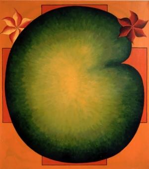 1992, Urnatur, 90 x 80 cm