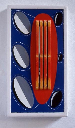 1994, Met absolute Zekerheid, 52,5 x 20 x 5,5 cm