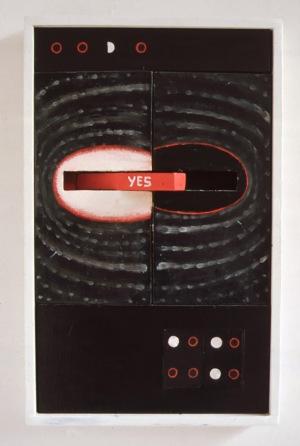 1995, Yes, 47 x 32 x 8 cm