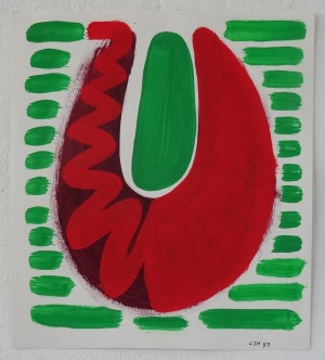 1997, zt, 30 x 26 cm