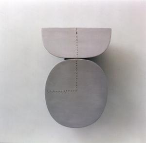 2001, Half as Much, 60 x 40,5 x 17 cm
